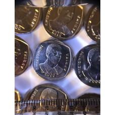 2000 Mandela Smile R5 coin - brand new - unc
