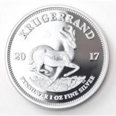 2017 Krugerrand 1oz FINE Silver - brand new UNC