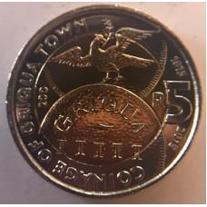 2015 Griqua Town celebration R5 coin - new - unc